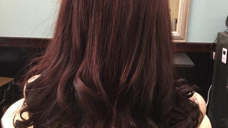 女性常連様 サラサラツヤツヤの巻き髪