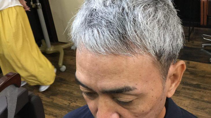 【男前カット】メンズが似合うヘアカタログ Vol.86 白髪でもカッコイイ男前カット