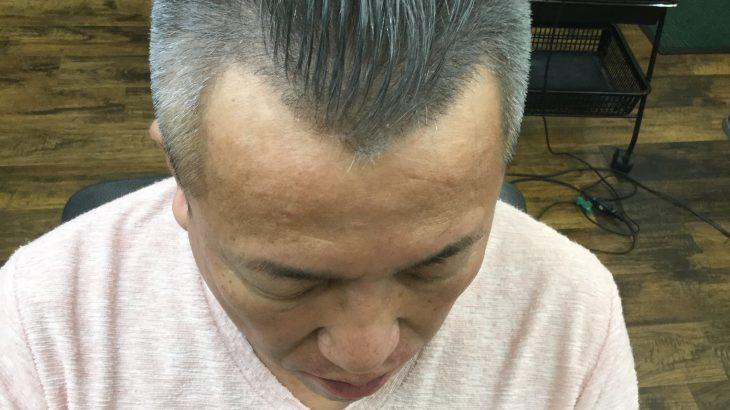 【男前カット】メンズが似合うヘアカタログ Vol.91 50代シルバーヘア
