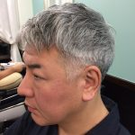40代〜50代「シルバーグレーヘア」でお悩みを男前カットでスタイリッシュヘア