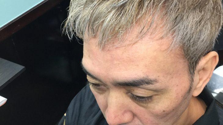 50代〜60代シルバーヘアがここまで男前にヘアチェンジします。