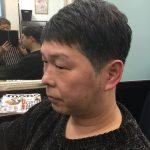 50代男性会社員家庭でも職場でも似合うヘアスタイルと言われてます。