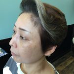 タカラヅカのような派手なヘアスタイルもお任せください!