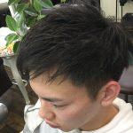 ハピネスヘアはメンズカットに定評があるサロンです。「男前カット」という名称にてメンズのお客様が日々来店していただいております。