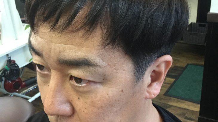 「40代男性」男前カット+ヘアカラーで男前になりました。