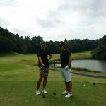 ゴルフスクール主催のコンペで4位になりました!