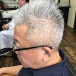 【男前カット】メンズに似合うヘアカタログ VOL.36 50代ソフトモヒカンな男前