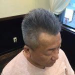 【男前カット】メンズに似合うヘアカタログ Vol.70 グレーヘアな男前