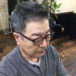 【男前カット】メンズが似合うヘアカタログ Vol.100 50代白髪をかっこよく男前