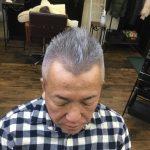 【男前カット】メンズが似合うヘアカタログ Vol.139 シルバーヘアで男前