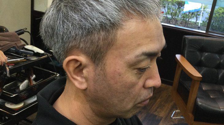 【男前カット】メンズが似合うヘアカタログ Vol.151 白髪もカッコよく男前