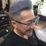 【男前カット】メンズが似合うヘアカタログ Vol.155 グレーヘアで男前