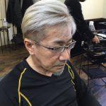【男前カット】メンズが似合うヘアカタログ Vol.185 白髪が目立たないシルバーヘアで男前