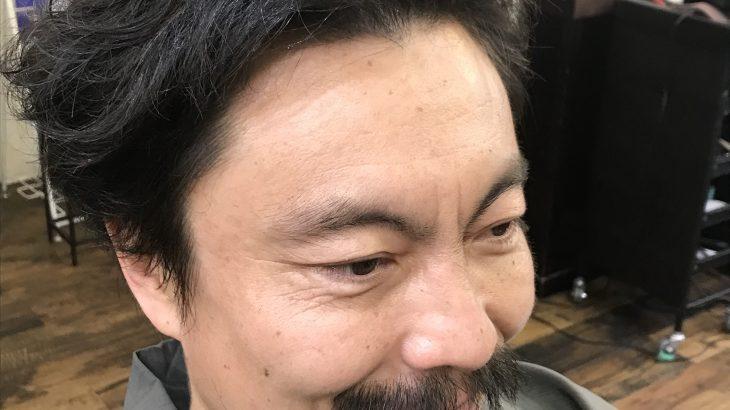 【男前カット】メンズが似合うヘアカタログ Vol.190 和服にパーマで男前