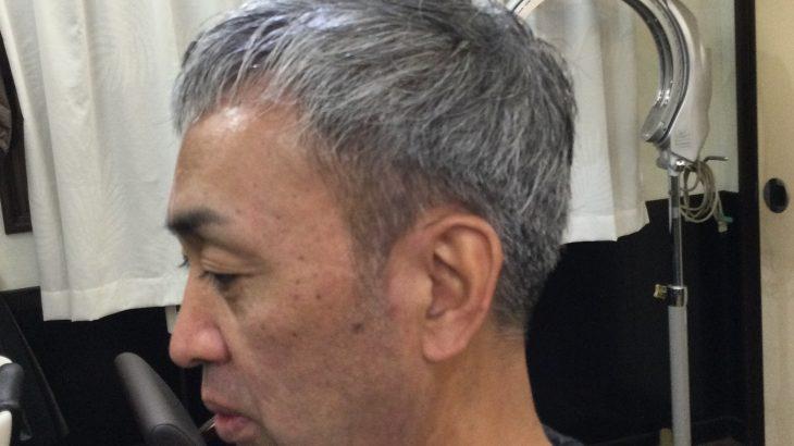 【男前カット】メンズが似合うヘアカタログ Vol.189 白髪でも男前