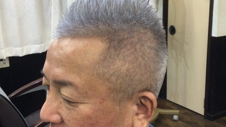 【男前カット】メンズが似合うヘアカタログ Vol.197 グレーヘアで男前