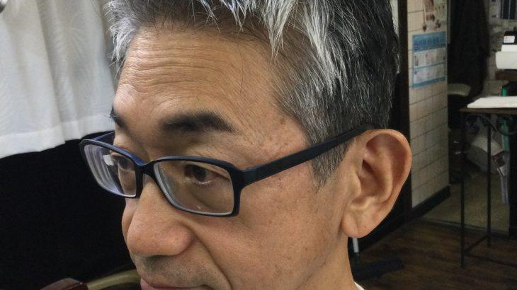 【男前カット】メンズが似合うヘアカタログ Vol.195  白髪でもカッコイイ男前カット