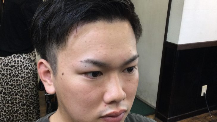 【男前カット】メンズが似合うヘアカタログ Vol.206 スッキリ刈り上げで男前