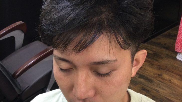 【男前カット】メンズが似合うヘアカタログ Vol.215  ふんわりパーマで男前